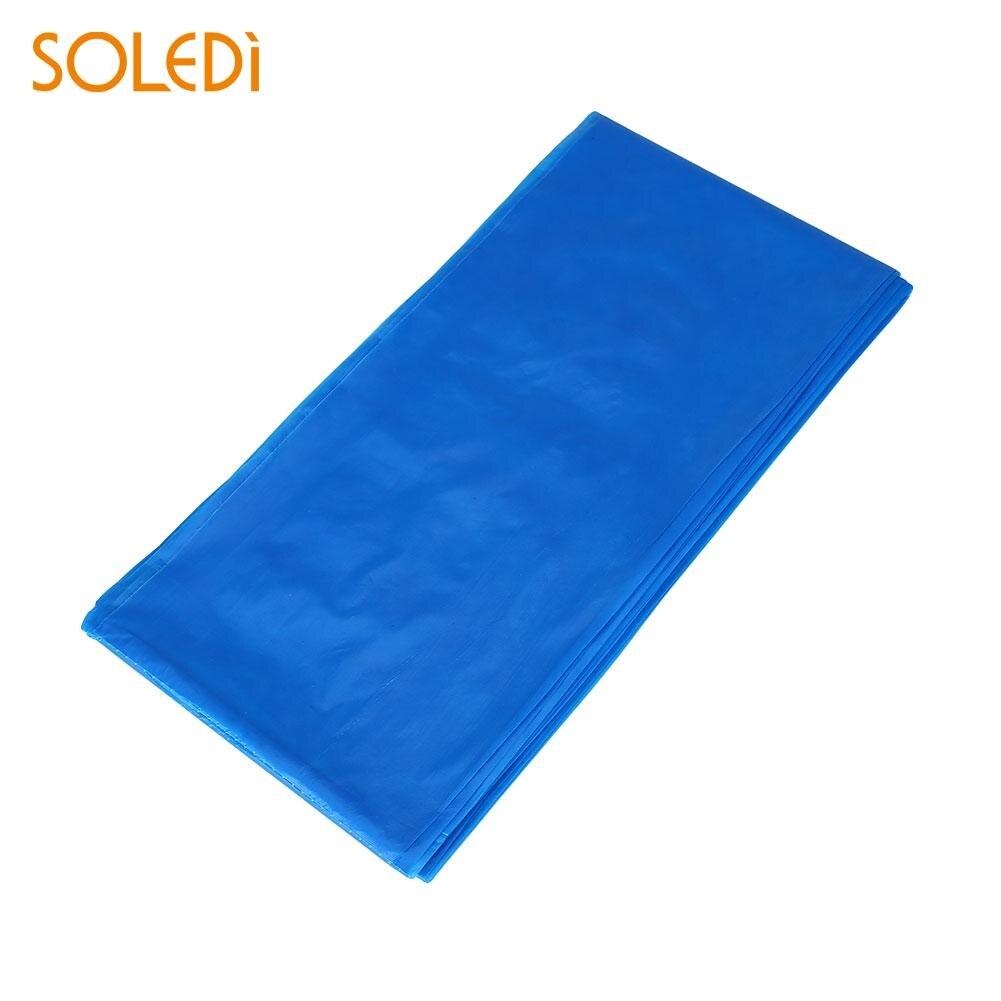 SOLEDI 20 цветов мягкий настольный бегун скатерть пластиковые товары для дома одноразовая скатерть для стола украшение стола