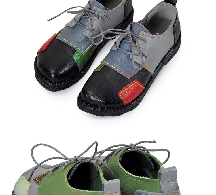 HTB1d6VXRFXXXXaKXXXXq6xXFXXXm - Women's Handmade Genuine Leather Flat Lace Shoes-Women's Handmade Genuine Leather Flat Lace Shoes