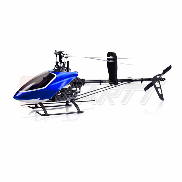 GARTT 500 FBL TT 2.4GHz 6Ch Flybaless Torque Tube RC Helicopter fits Align Trex 500