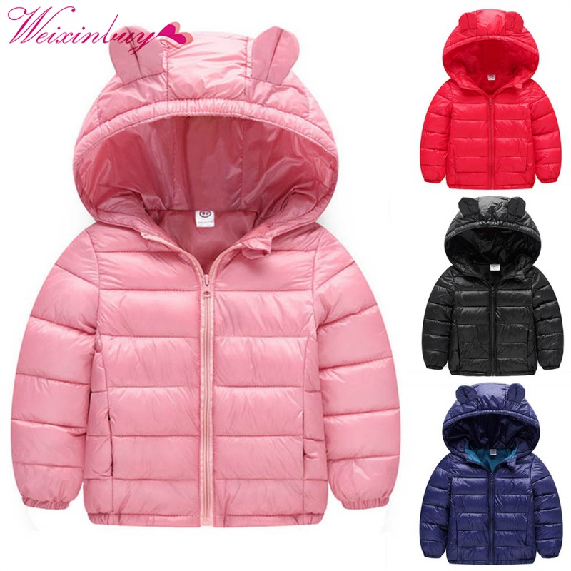 Boys Girls Jacket Winter Warm Children Kids Coat Children Cotton Casual Hooded Thick Outerwear children winter coats jacket baby boys warm outerwear thickening outdoors kids snow proof coat parkas cotton padded clothes