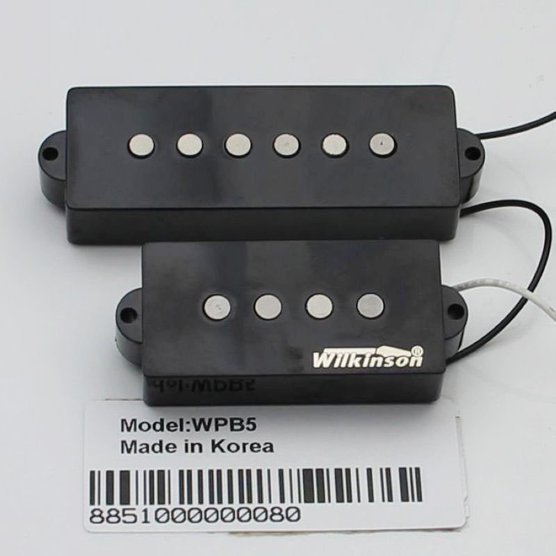 Han 5 string electric bass open 5 string bass pickup segment WPB5 black купить недорого в Москве