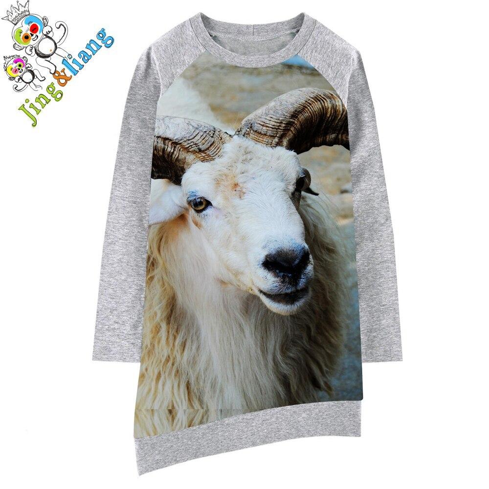 Платье с козлом