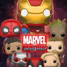 FUNKO POP Marvel Avengers 3 Infinity War Iron Man Collection Model Toys Captain America Marvel Thanos Figure PVC action figure 2018 marvel amazing ultimate spiderman captain america iron man pvc action figure collectible model toy for kids children s toys