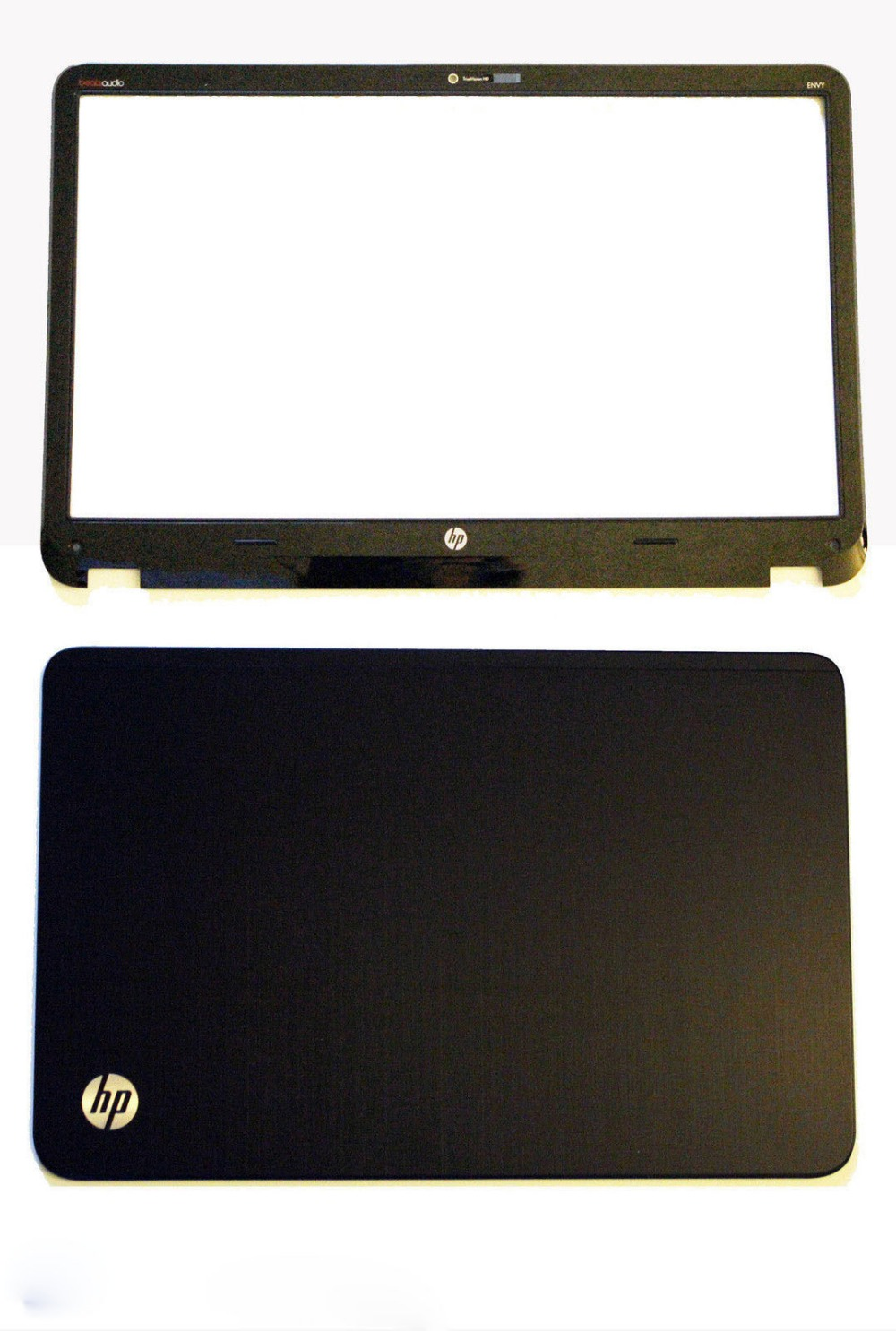 New HP Pavilion Envy6 Envy6-1000 Envy 6-1000 LCD Back Cover Case & Front Bezel 692382-001 686591-001 laptop lcd back cover screen for hp for envy 15 15 j 15 j000 15 j100 lcd front bezel cover 720535 001 b shell front bezel touch