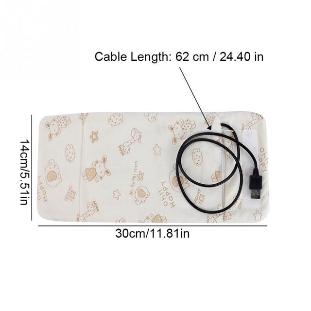 Portable Baby infant  Bottle Warmer USB Travel Mug Milk Warmer Heater Feeding Bottle Infant removable wash liner Storage Bag