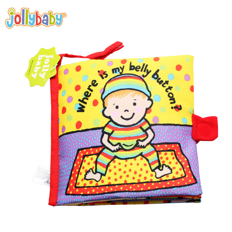 Australia 0-1 year old brand tag early infant puzzle book with gutta percha cloth tear rotten WJ259