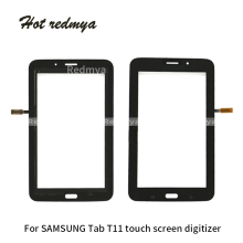 For Samsung Galaxy Tab 3 Lite 7.0 WiFi Version T110 3G Version T111 Tablet Touch Screen Digitizer Outer Glass Sensor White Black цена