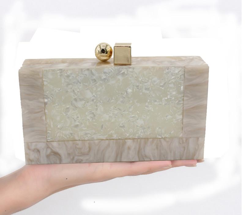 MATCHANT Pearl Handbag Lady Banquet Evening Dress Clutch Purse Shoulder Bag Color : Gold