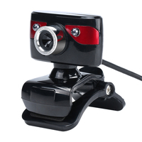 1 3 Megapixel Camera USB Port Computer Web Cam With Mic Support Night Vision For PC