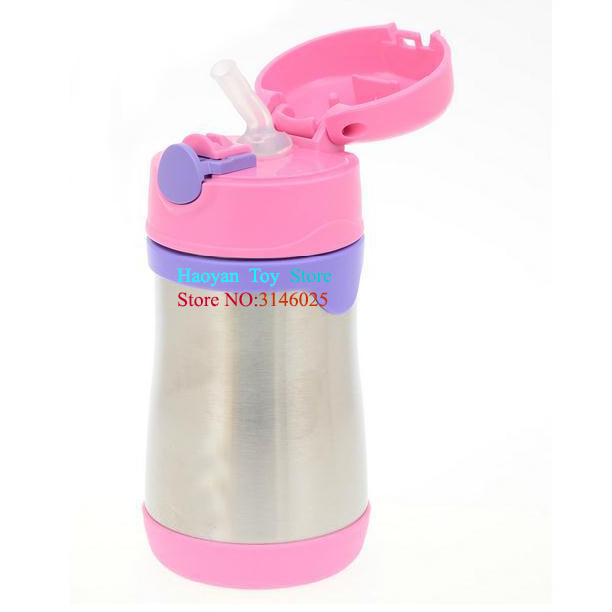 New BPA Free Children 300ML Stainless Steel Leak-proof Insulation Mug Child Safety Products eyki h5018 high quality leak proof bottle w filter strap gray 400ml