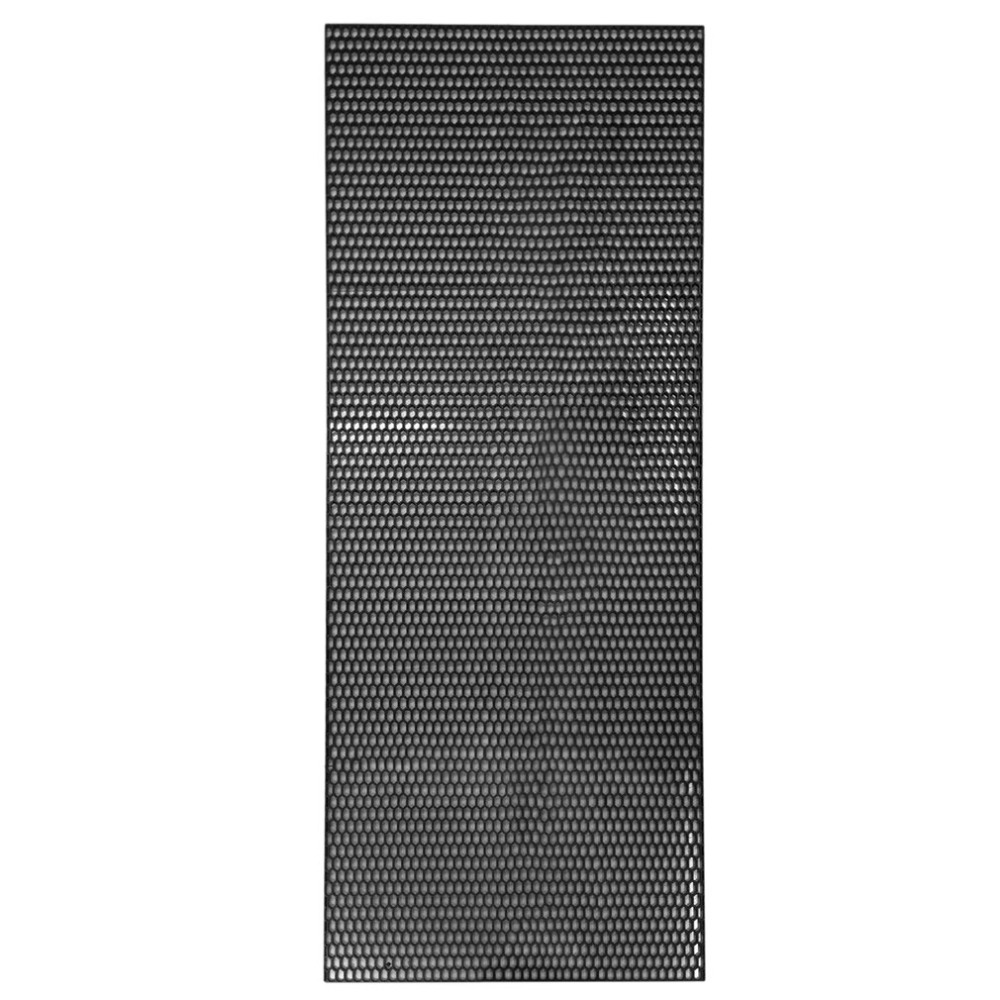ABS Plastic Car Front Bumper Mesh Grille Cover Universal Durable Vehicle Mesh Grill Car Vehicle Black Grille Net