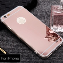 Luxury Mirror Fashion Cover Case For iPhone X 8 7 6S 6 Plus Soft Clear TPU Silicon Phone Bag Case For iPhone 5S SE 5 coque Shell
