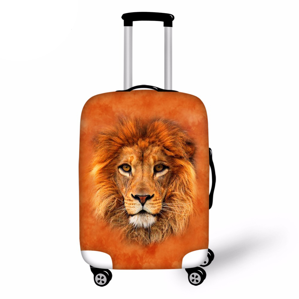 Customized Image Luggage Cover for Trip 28Inch Elastic Travel Case Cover valise Trolly Suitcase Protective Cover Travel Accessor