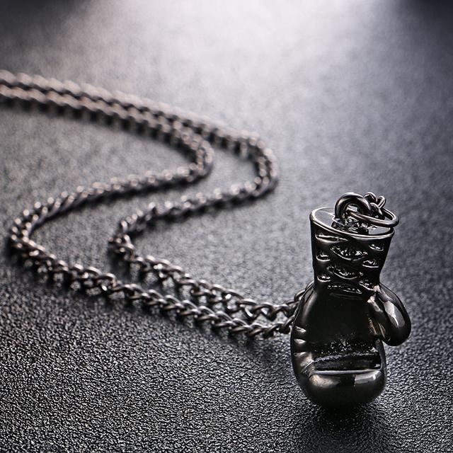 Mini Boxing Glove Necklace