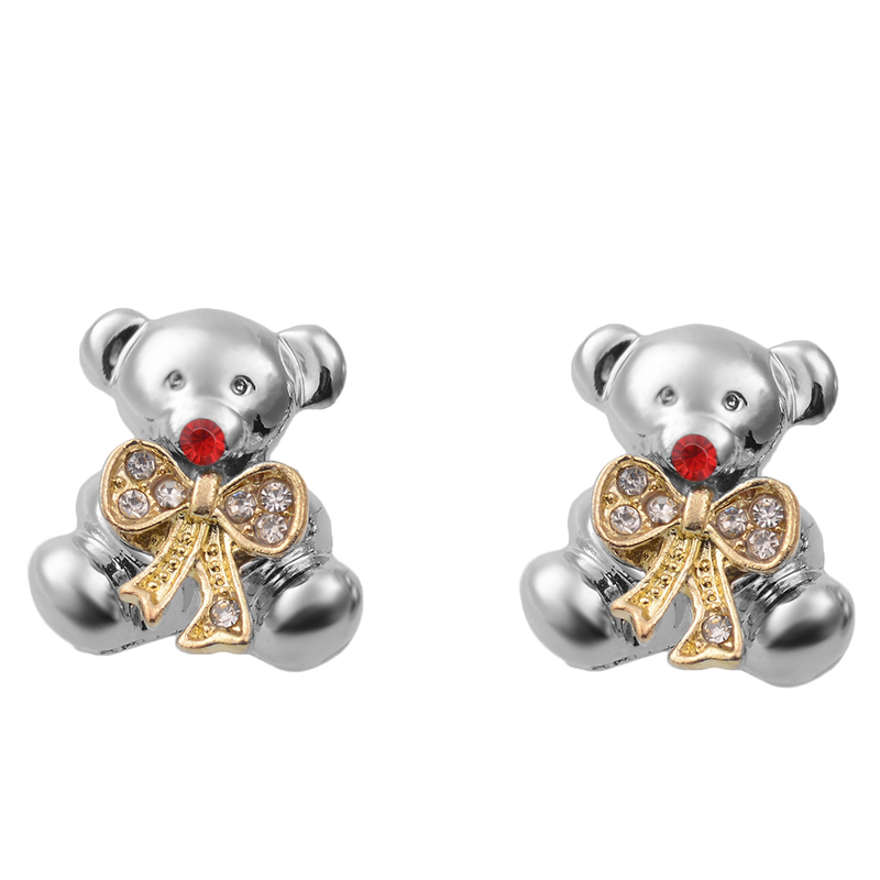 Fashion Cute Bear Stud Earrings For Girls-in Stud Earrings ...
