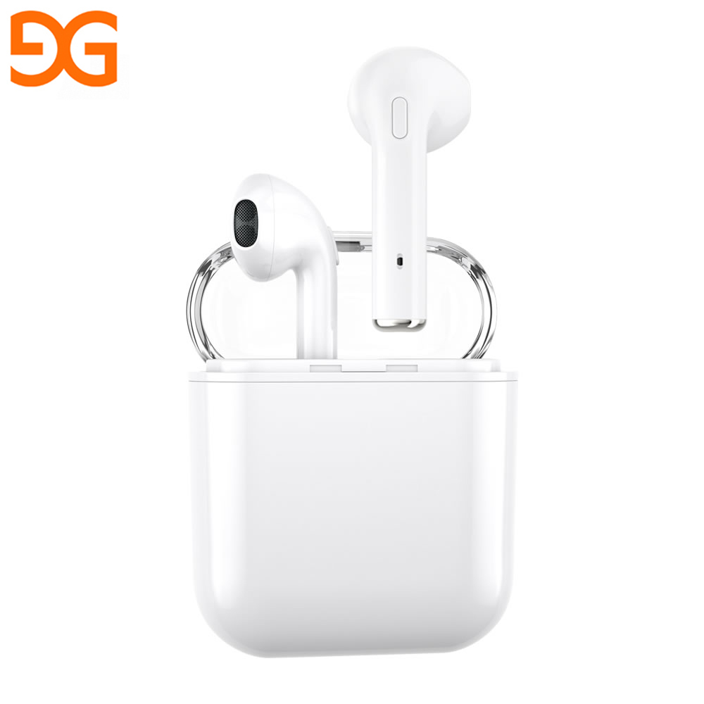 GUSGU Wireless Bluetooth Earphones For Apple Stereo Earbuds In-Ear Earphone For Android Air Microphone Pods For iPhone X/6/7/8 for apple earpods with earphones 3 5mm plug and lightning earphone plug stereo phones in ear earphone with microphone original page 6