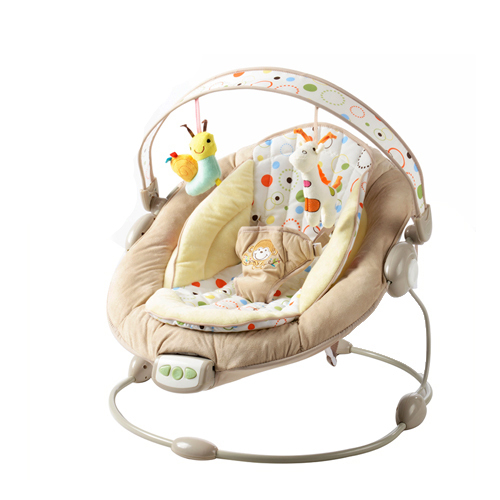 f24721cdc2ad Free shipping Bright Starts Mental Baby Rocking Chair Infant ...