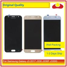 "Original 5.0"" For Samsung Galaxy J3 2017 J330 LCD Display With Touch Screen Digitizer Panel Pantalla Complete J3 Pro 2017 LCD"