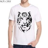 Estate Tigre Stampa Uomo t shirt Vintage Tiger Portrait Design Casual Maglietta Stile Harajuku Fashion Boy Marca Tops L6-F-10