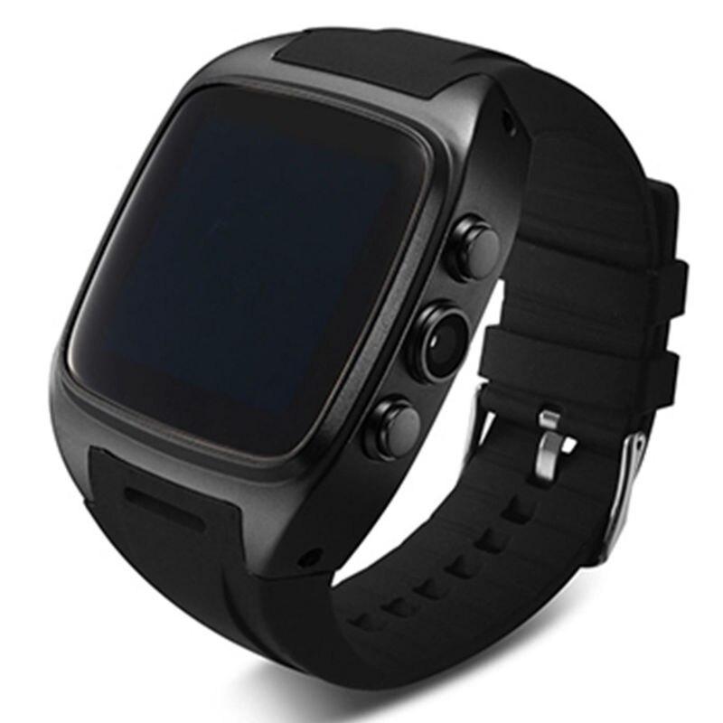 imágenes para Tarjeta SIM Reloj inteligente X01 electrónica con 1.54 pulgadas de pantalla Android 4.2 Bluetooth 3G WIFI 5mp GPS A Prueba de agua reloj de pulsera