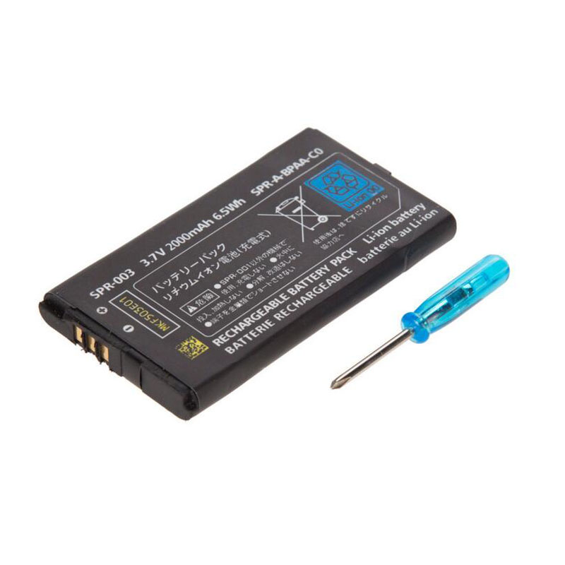 3.7V <font><b>2000mAh</b></font> Rechargeable <font><b>Battery</b></font> Power Pack Replacement with tool For Nintendo New <font><b>3DS</b></font> LL/XL New 3DSXL/3DSLL Game Console image