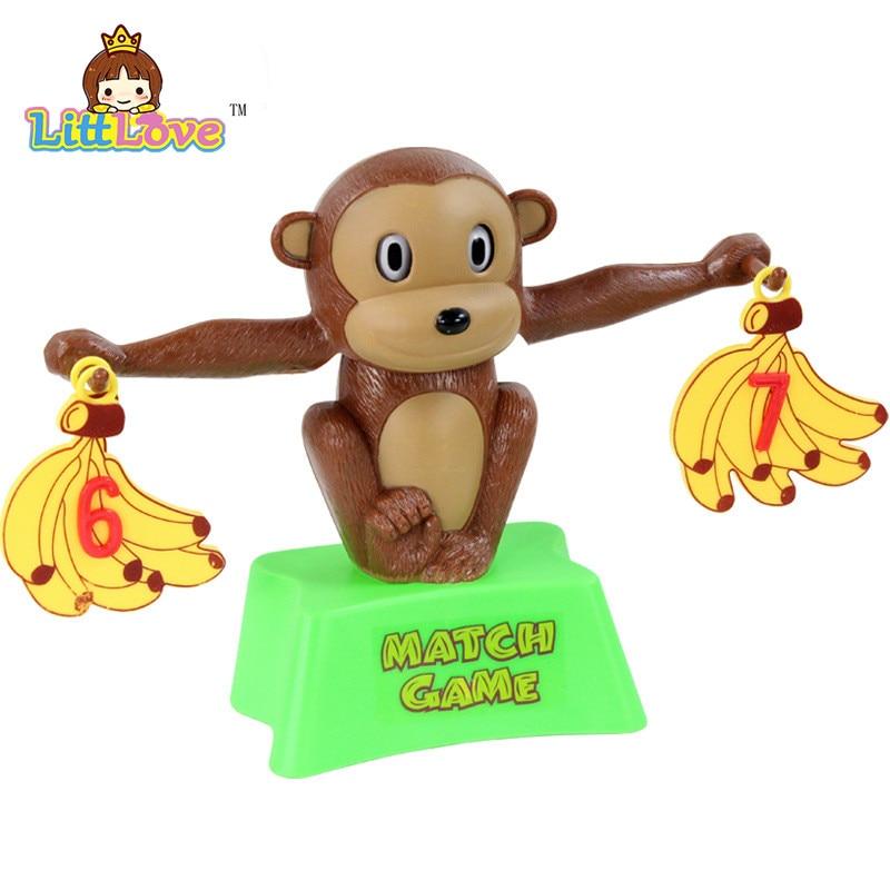LittLove Funny Cute Monkey Bananas Сандар балансы Оқу - Білім беру және оқыту - фото 3