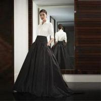 Plus Sz Womens Black Long Party Skirts Prom Ball Gown Formal Fashion Skirt Women
