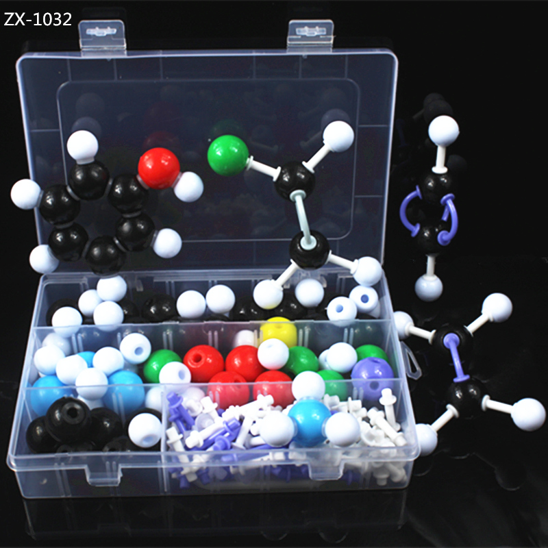wholesale 23mm molecular models,organic chemistry molecular model kit with box,Chemistry teaching supplies,DLS-23136