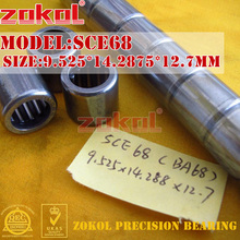 ZOKOL bearing SCE68 BA68 Type punch stamping outer ring needle roller bearings 9.525*14.2875*12.7mm