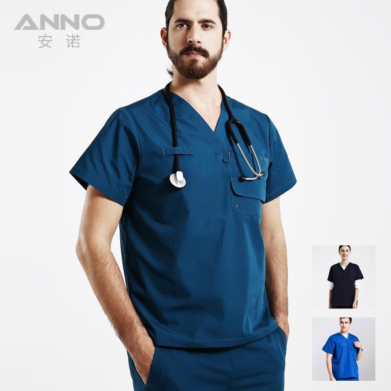 2016 recién llegado de la ropa de trabajo médica soild uniformes - Novedad