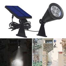 Из светодиодов солнечный уличный Lmap IP44 5 Вт 2 В Refletor управления Outerdoor из светодиодов солнечные пятна высокой яркости бесплатная доставка