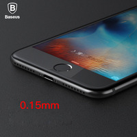 Baseus Premium 0.15mm Screen Protector For iPhone 7 6 6s Tempered Glass For iPhone 7 6 6s Plus Toughened Glass FIim