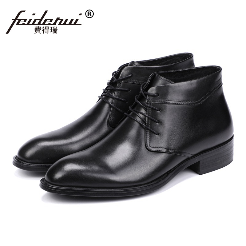 Fashion Genuine Leather Handmade Man Formal Dress Riding Office Shoes Round Toe Lace up Mens Cowboy  Ankle Boots JS109Fashion Genuine Leather Handmade Man Formal Dress Riding Office Shoes Round Toe Lace up Mens Cowboy  Ankle Boots JS109