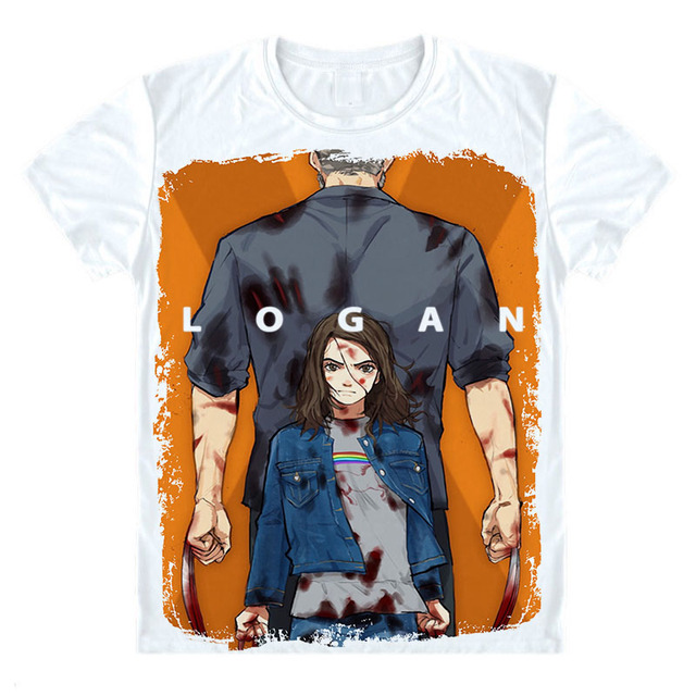 Wolverines T Shirt  Wolverines Logan T-Shirt Men Women  Marvel legends Movie Logan Figure Tshirt Super Hero Clothing Unisex Tee