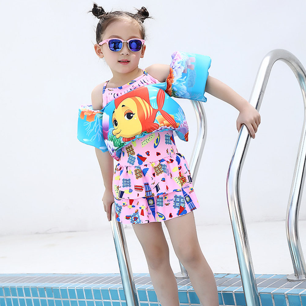 MrY Lift Foam Lifebuoy Water Sports Life Jacket Children's Lifejacket Vest Learn Swimming Snorkeling Buoyancy Vest Air Inflation