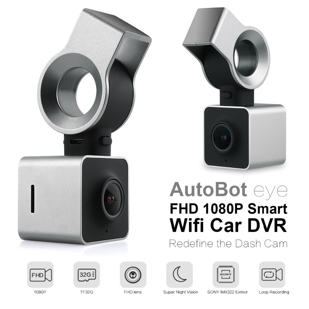 AutoBot Eye Full HD 1080P Smart Wifi Car DVR Novatek 96655 Auto Camera Dashcam Video Recorder G-Sensor WDR Night Vision junsun wifi car dvr camera novatek 96655 imx 322 full hd 1080p dashcam video recorder for old audi a1 a3 a4 a5 a6 a7 q3 q5 q7