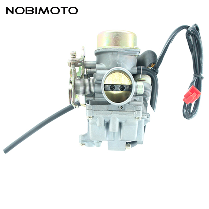 31mm KF PD31 Electric Trottle Carburetor for Chinese 300cc Feishen Linhai Moped Scooter ATV Motorcycle HK-104-2