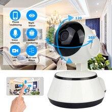 Детский Монитор портативная WiFi ip-камера 720 P HD Беспроводная умная детская камера Аудио Видео Запись наблюдения домашняя камера безопасности