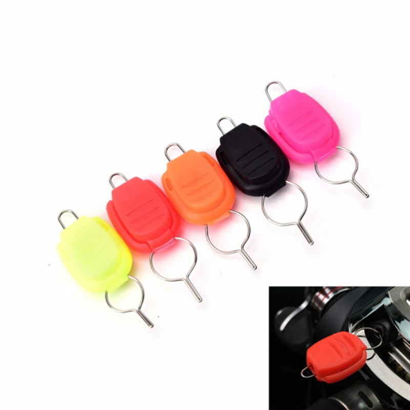 10pcs/pack ABS Fishing Line Stopper Drum Wheel Dripping Wheel Dedicated Card Line Device Fishing Accessories