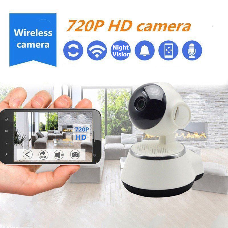 Baby Monitor Wifi IP Camera 720P HD Smart IP Camera Two-Way Talk Audio Record Camera Home Security Camera Night Vision