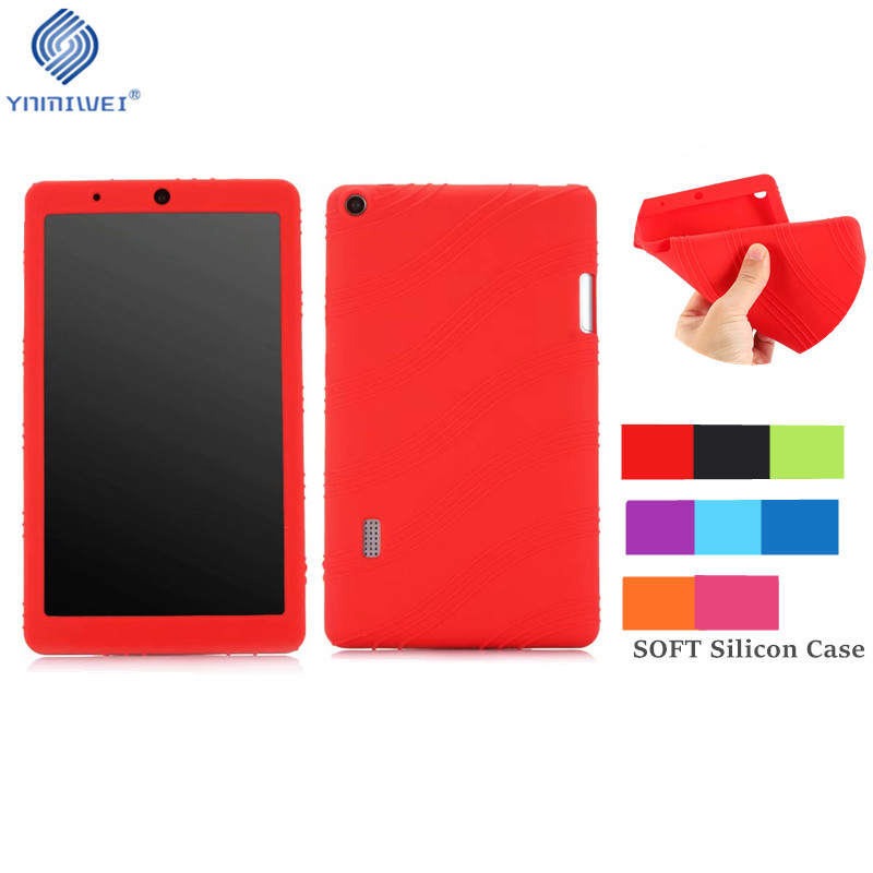 Soft Case For Huawei T3 7 WiFi Version Tablet Case Silicone Stand Protect shell For Huawei MediaPad T3 7.0 BG2-W09 Tablet Case цена