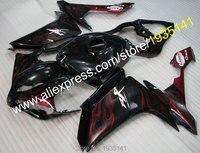 Bán Hàng nóng, Ngọn Lửa Màu Đỏ fairing Cho Yamaha YZF R1 2007 2008 YZF-R1 07 08 YZF1000 Xe Máy thân xe kit nắp động (ép nhựa)