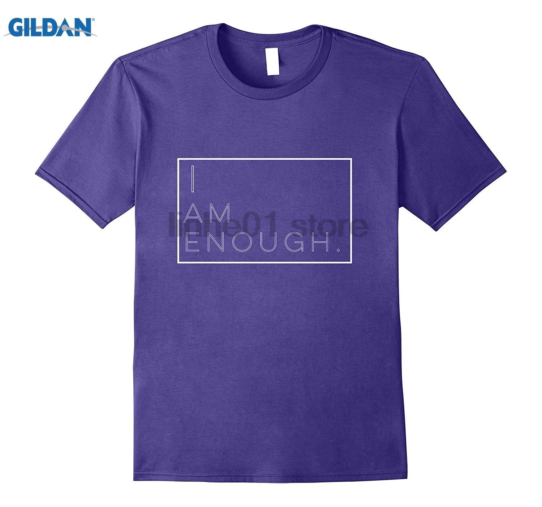 GILDAN I Am Enough Inspirational Tshirt, Powerful Graphic Tee sunglasses women T-shirt