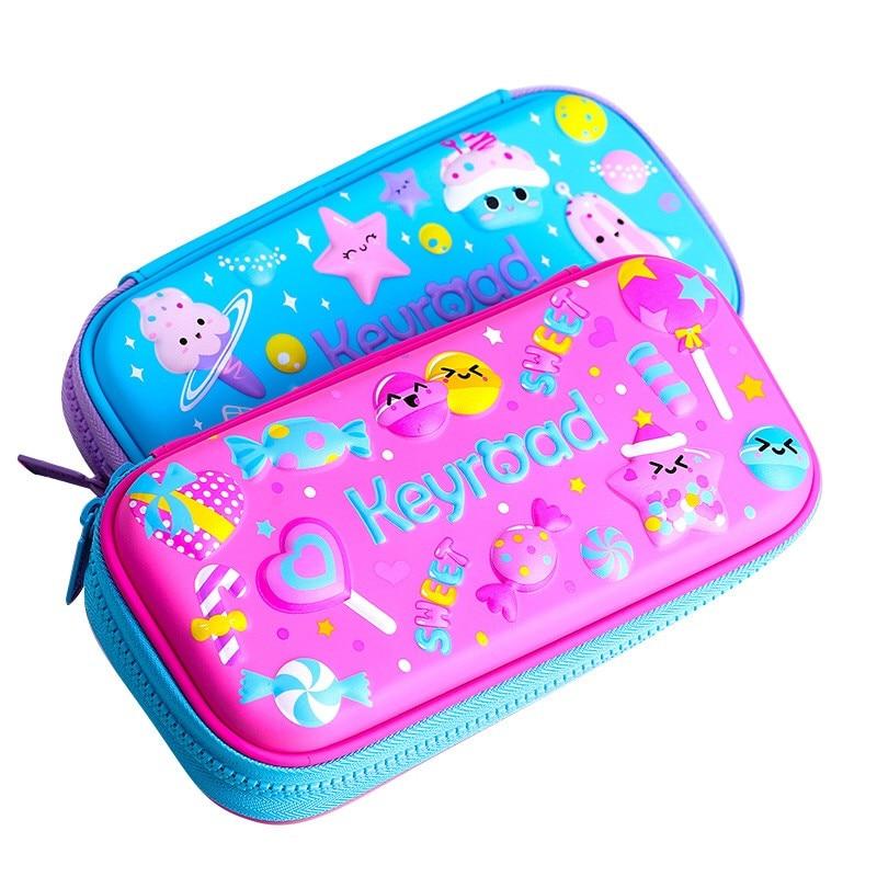 Befriend EVA Pencil Case Bag for Girls Boys Kids Stationery Multifunctional Box Kawaii Big Estojo Escolar 3D Large