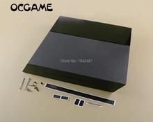 OCGAME funda de carcasa completa para ps4 1000, funda negra de alta calidad con tornillos de Juego completo para consola ps4 1100