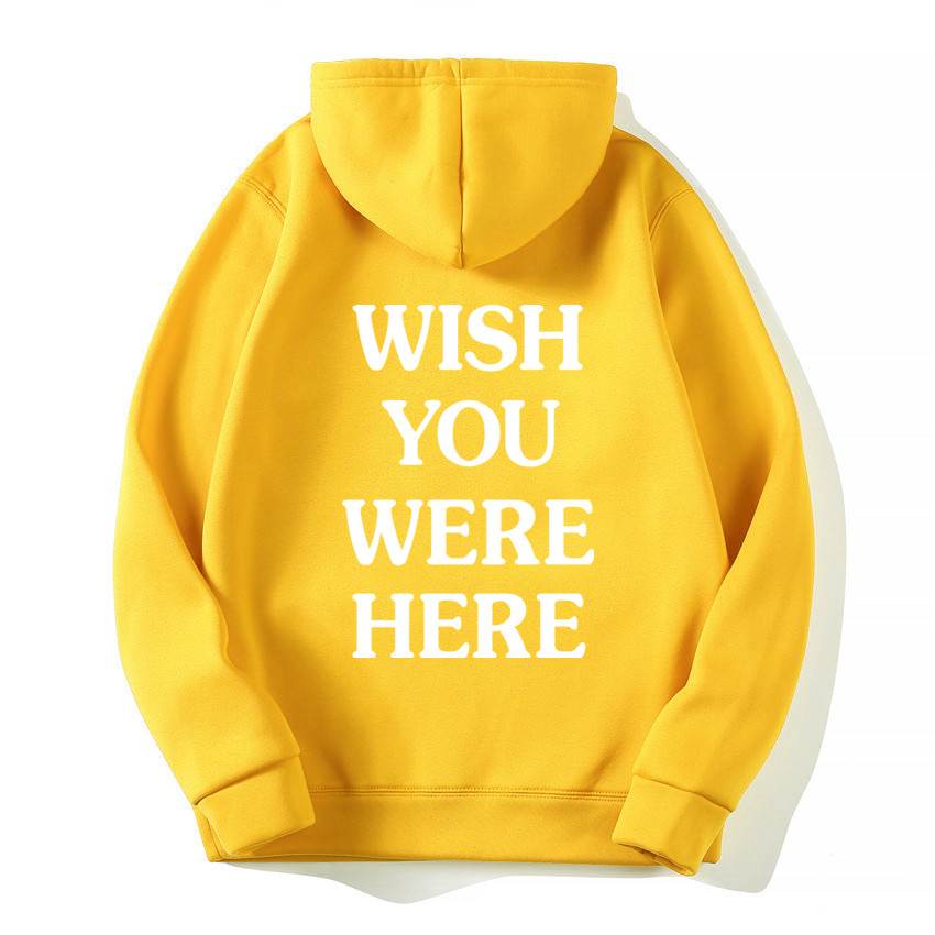 TRAVIS SCOTT ASTROWORLD WISH YOU WERE HERE HOODIES fashion letter ASTROWORLD HOODIE streetwear Man woman Pullover Sweatshirt 7