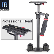 INNOREL SP70 Aluminum Handheld Steadicam DSLR Camera Stabilizer Video Steadycam Camcorder Steady Cam Glidecam Filmmaking Gimbal puluz for steadycam u grip c shaped handgrip camera stabilizer w h tripod head phone clamp adapter for steadicam dslr stabilizer