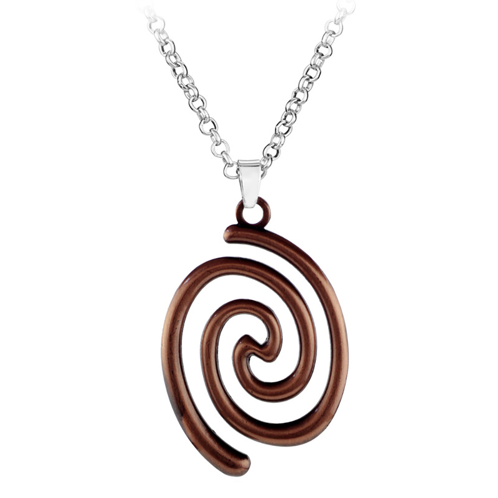 1pc fashion vintage ladies women blue stone spiral pendant necklace 1pc fashion vintage ladies women blue stone spiral pendant necklace jewelry hook moana leather chain in pendants from jewelry accessories on aloadofball Image collections
