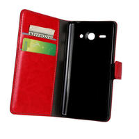 10 Colours PU Leather Phone Case For Huawei Ascend Y530 Phone Bag Wallet Flip Stand Cover With Card Slot Holder Back Shell