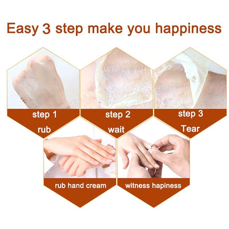 Milk Honey Hand Wax Paraffin Bath Hand Mask Whitening Exfoliating Moisturizing Anti Wrinkles Hand Care Hand QS888